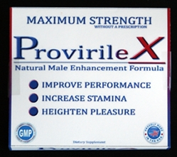 Maximum Strength ProvirileX male enhancement, all natural male enhancement, natural male enhancement
